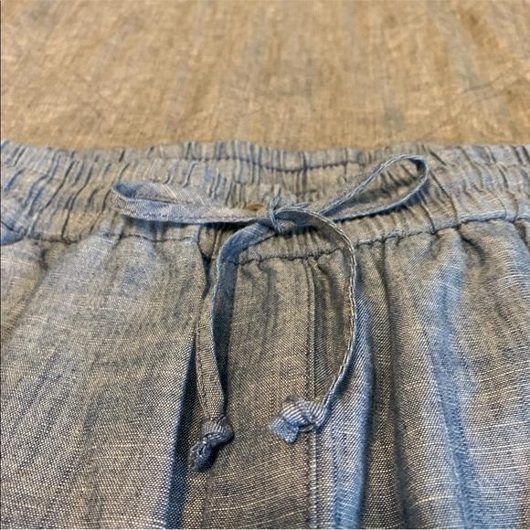 J Crew Drawstring Denim Pants